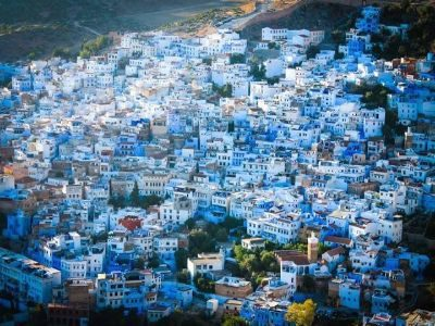 Best Day trip from Fes to Blue city Chefchaoun